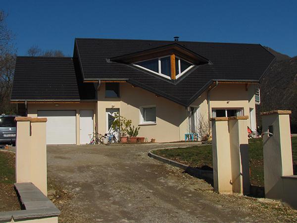 Réalisation d'une villa neuve à Saint Jeoire Prieuré – Savoie