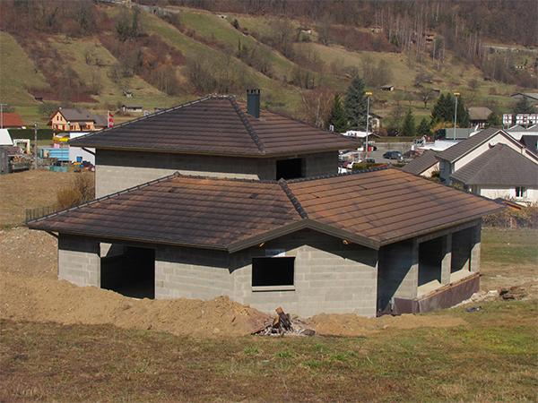 Réalisation d'une villa neuve à Détrier – Savoie