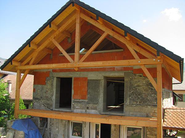 Rénovation d'une villa à Saint Jean de Couz – Savoie